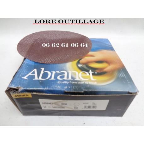 MIRKA - disque Abranet P80