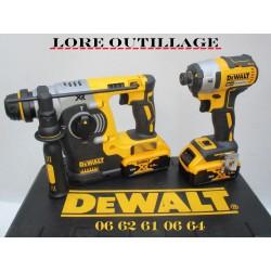 DeWALT DCH273 + DCF887 - Perforateur / visseuse à choc