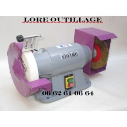 SIDAMO TM 200 B - Touret à meuler + brosse