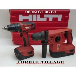 HILTI TE 4-A22 + SFC 22-A / Perforateur + Visseuse