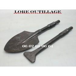 Burins démolisseur - Bèche / spatule