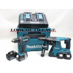 MAKITA DHR264 + DDF482 / perforateur + visseuse