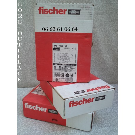 FISCHER 50 tirefonds + chevilles