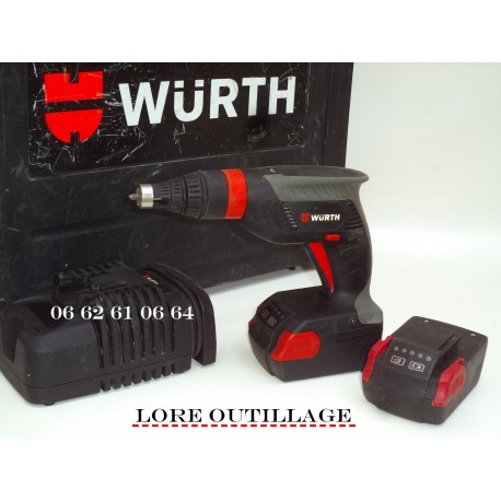 WURTH TBS 18-A Visseuse placo