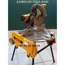 DEWALT D27107 - Scie table retournable